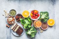 Plat-Based Foods With Iron