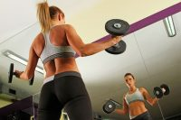 Body fat and strength training