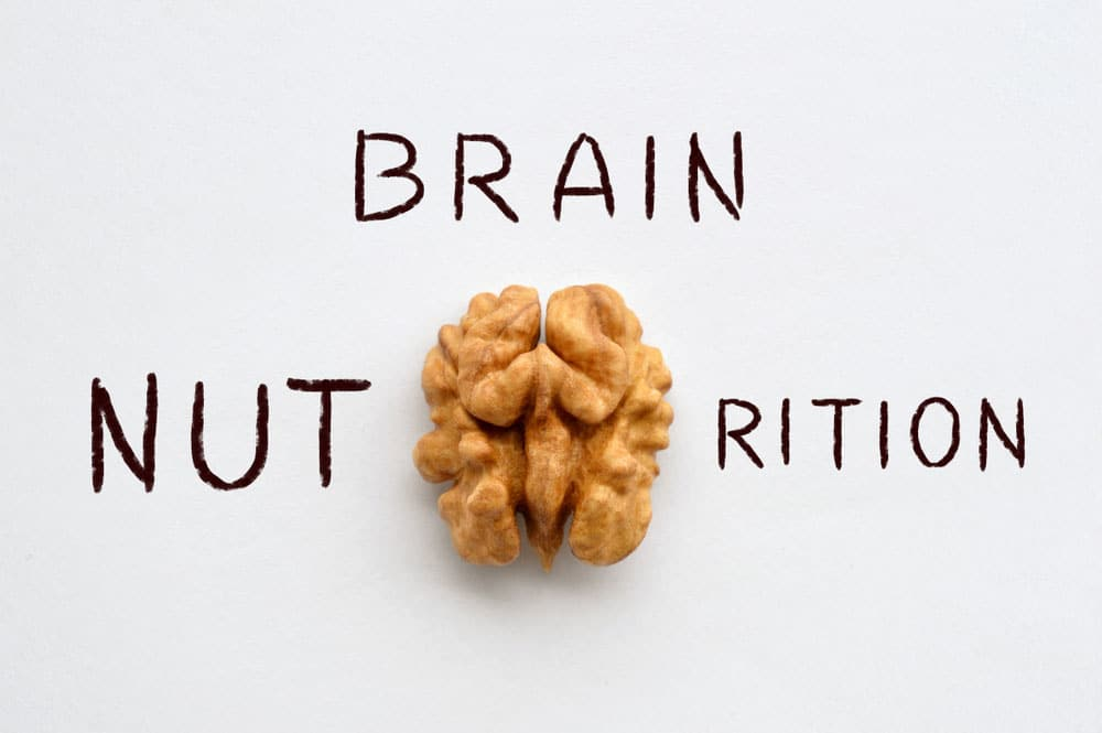 Health food nuts are good for brain health