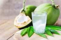 Sports drinks and coconut water